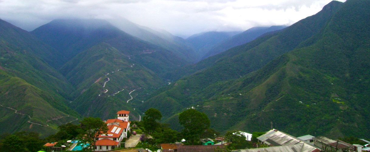 Tourism at the Yungas (Coroico)